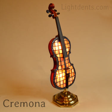 "$900.  27"" Violin accent lamp. Light dim"