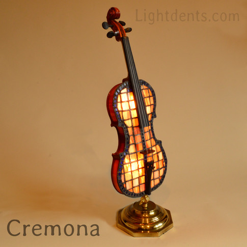 "$900.  27"" . Violin accent lamp. Light d"