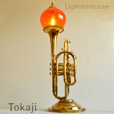 "$350. 26"" . Cornet Lamp. 2nd Piston On_Off_"