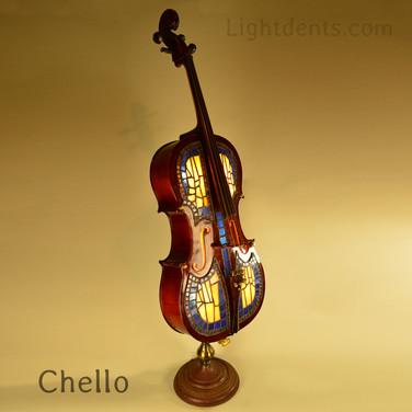"""Cello Floor lamp. 55x12x16"""""""