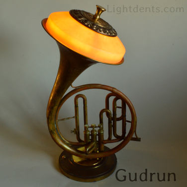 $500 Marching French Horn. On/Off switch in the second valve. 22""