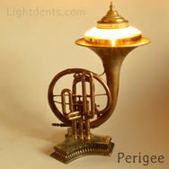 """$500 Vintage Marching French Horn, On/Off in the second piston. 21"""""""