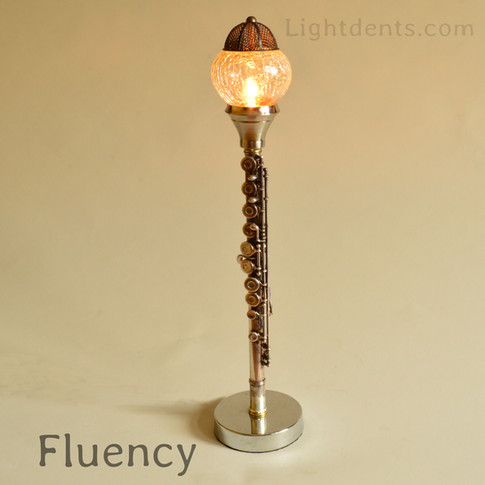 "21"" .  Flute Lamp"