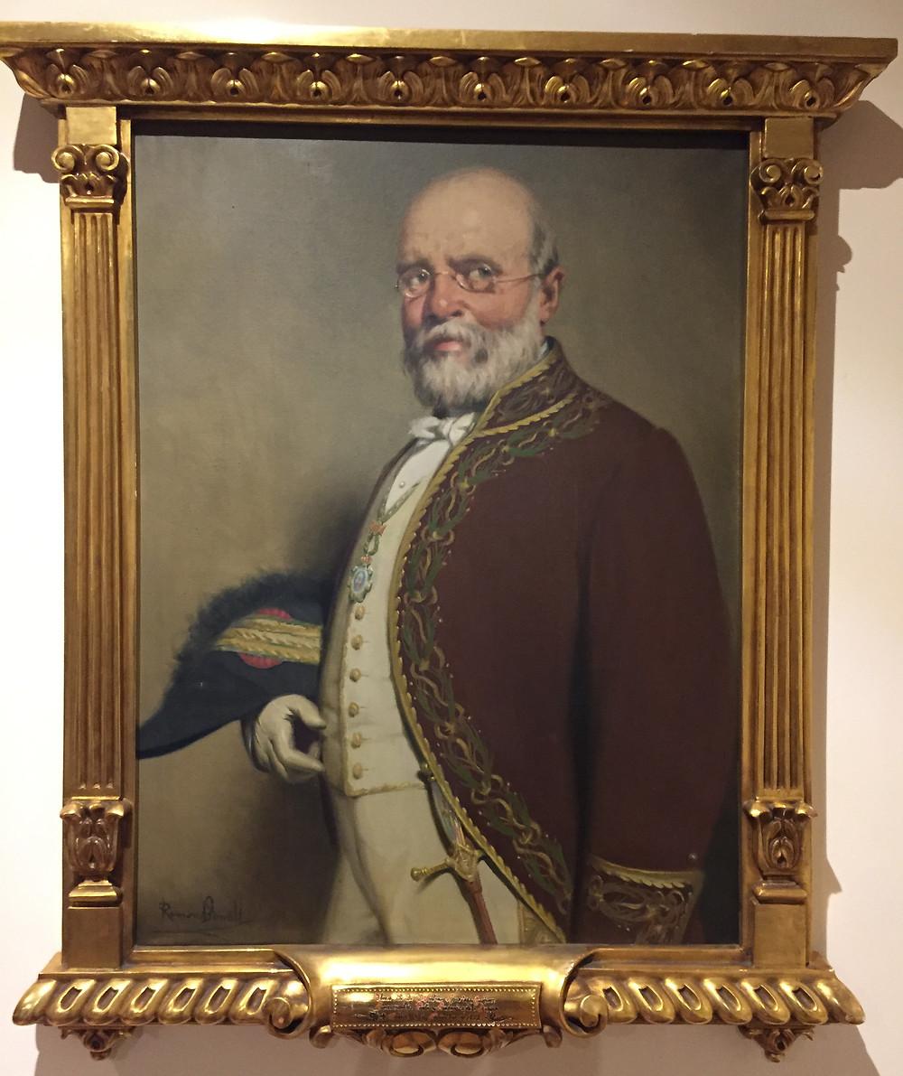 Antonio Aparisi y Guijarro. Museo Carlista de Madrid