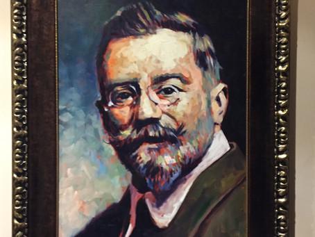 Retrato al óleo de Vázquez de Mella