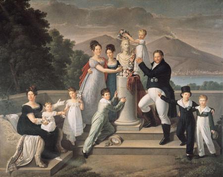 La familia de Francisco I