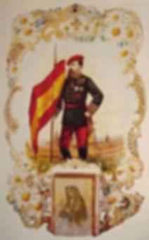Carlos VII y monasterio de El Escorial.J