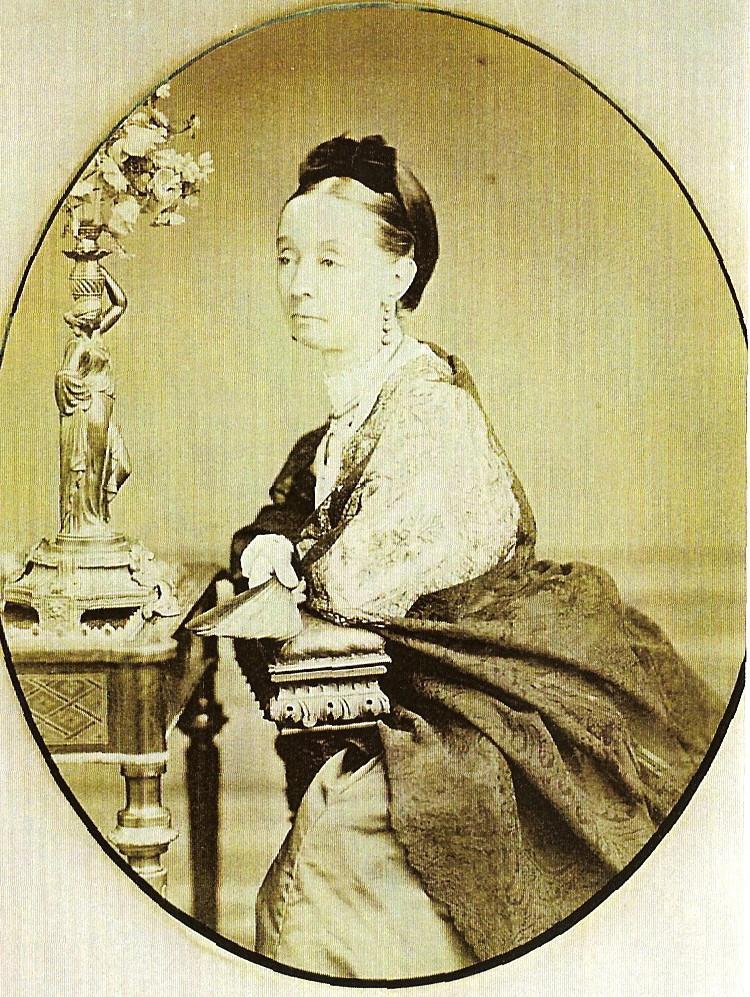 Retrato de la condesa de Morella en el hall de Wentworth