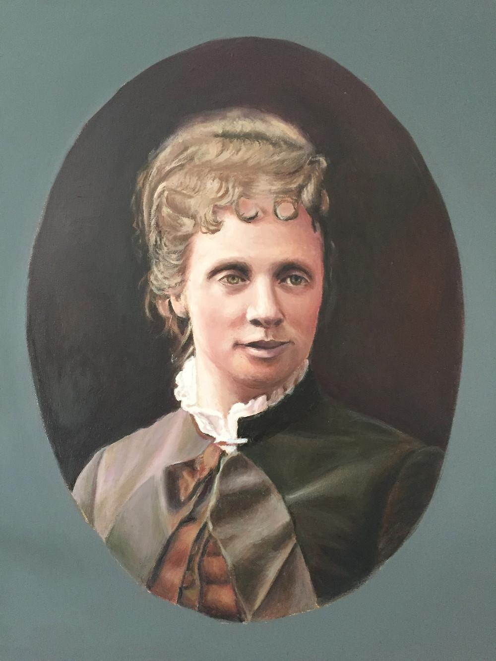 La reina carlista Margarita de Borbón-Parma