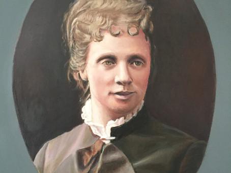 Retrato de Doña Margarita de Borbón -Parma, obra de Carmen Gorbe Sánchez