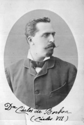 Carlos de Borbón, Carlos VII