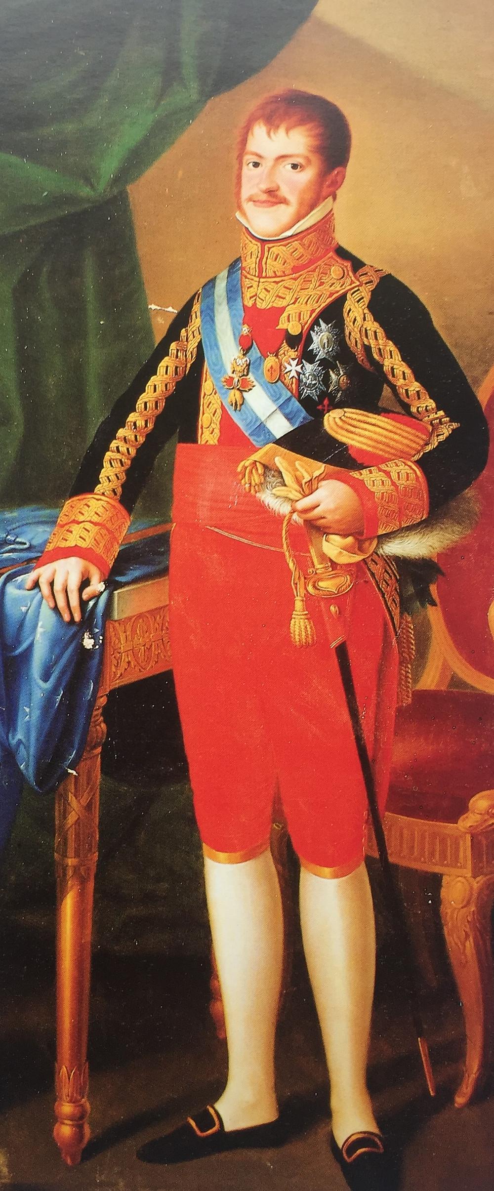 Carlos María Isidro de Borbón, Carlos V