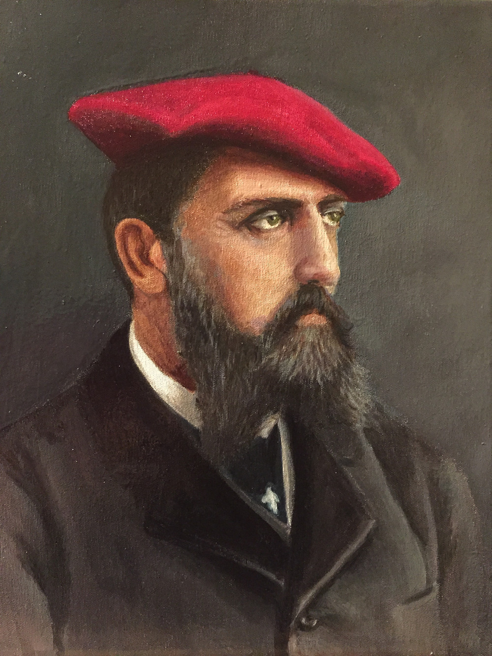 Don Carlos de Borbón, por Carmen Gorbe Sánchez. Museo Carlista de Madrid