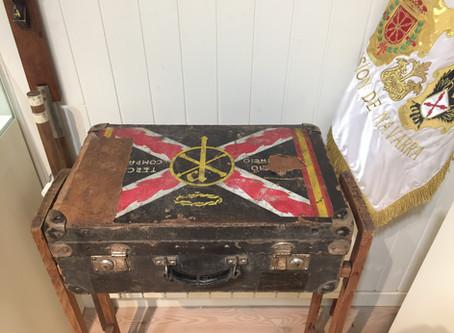 La maleta del P. Marticorena S.J, joya del MCM