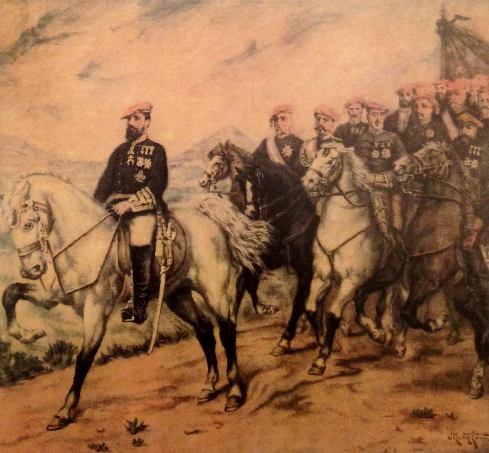 Carlos VII y sus generales