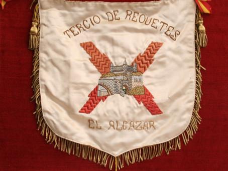 Banderas en el Museo Carlista de Madrid.- Colección J. Urcelay