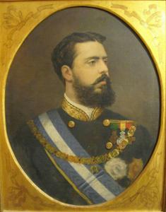 Carlos de Borbón Austria-Este. Museo Carlista de Madrid