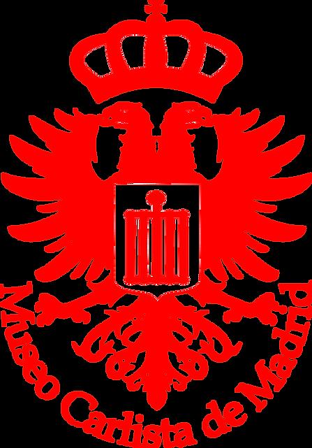 Escudo de Museo Carlista vectorizado sin
