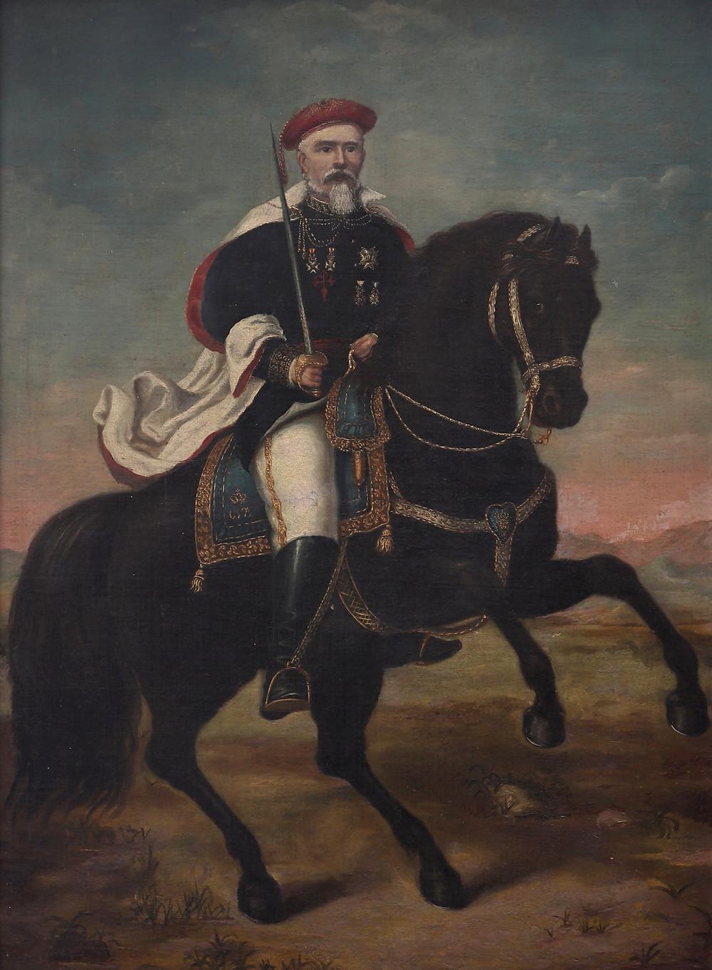 General carlista Polo y Muñoz de Velasco. Museo Carlista de Madrid