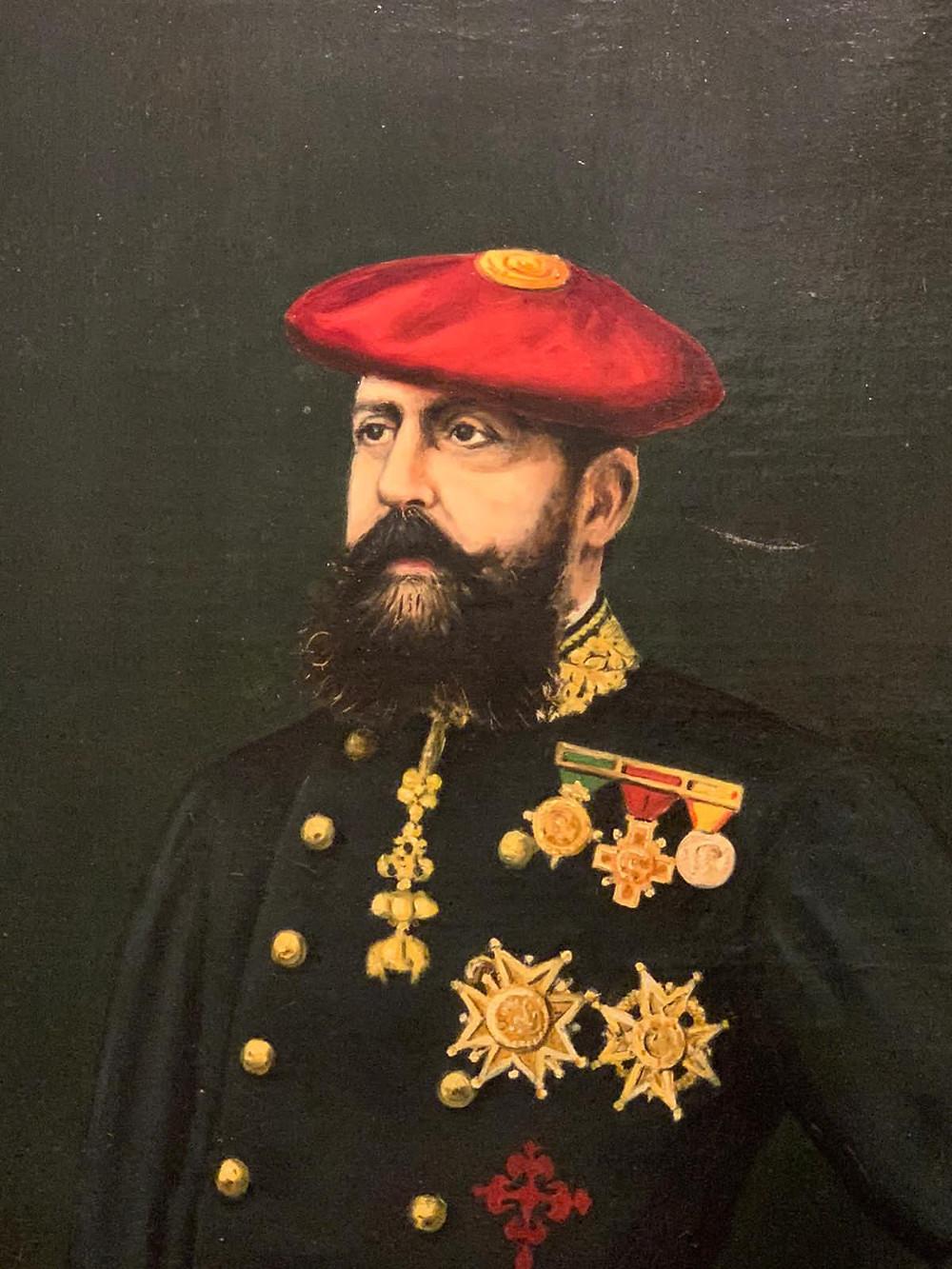 Carlos VII, detalle