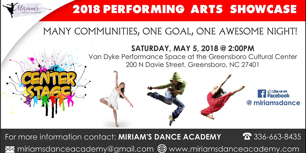 2018 Performing Arts Showcase