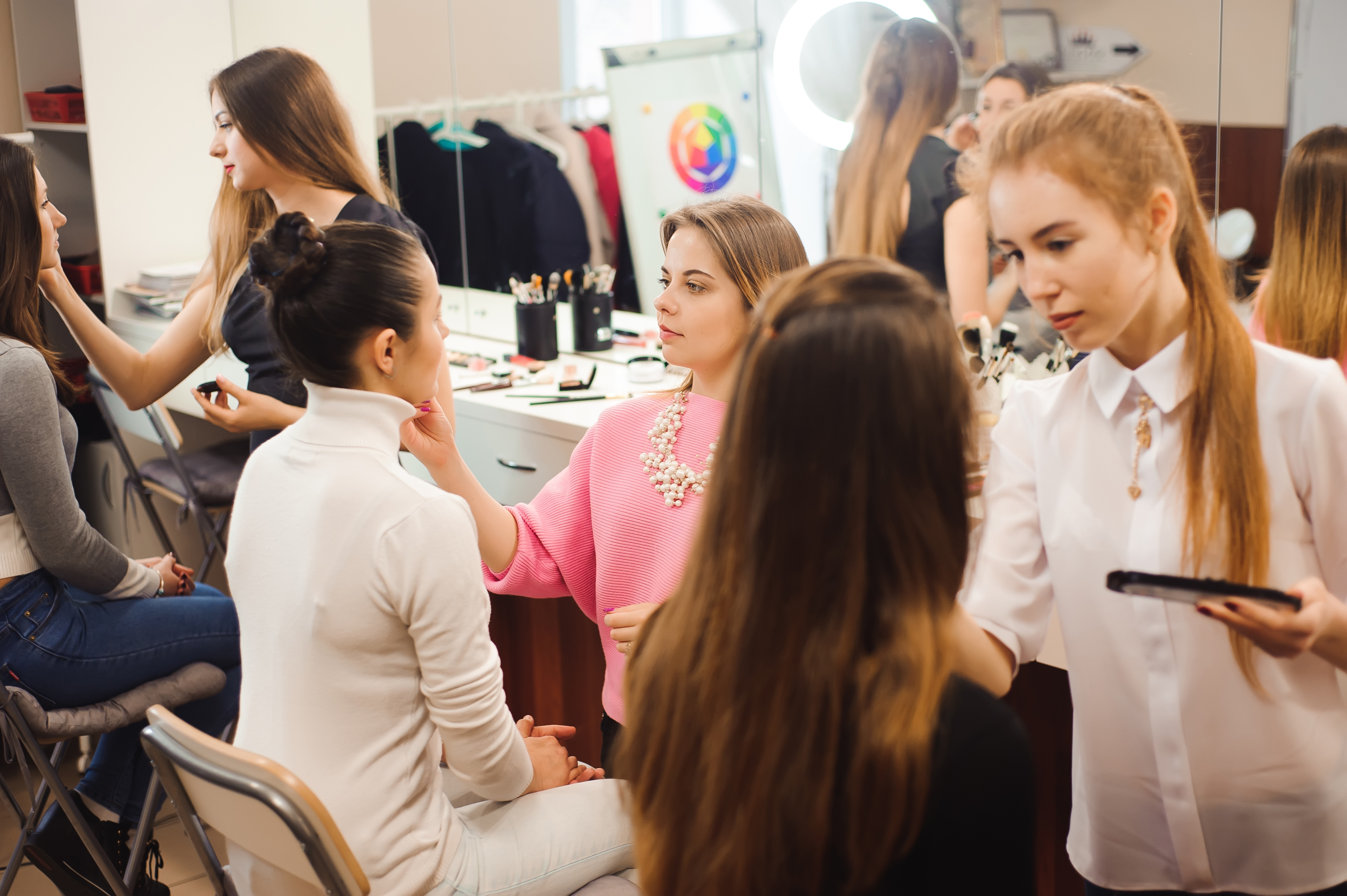 Hands on beauty training
