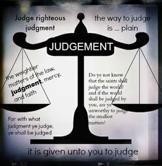 True Word of Yah: The Many Definitions of Judge