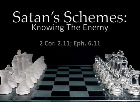 Attitude &Reality Check: What are the Devices of satan? A 2 Corinthians 2:11 Study of devices