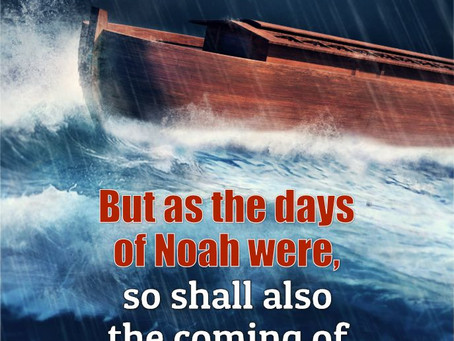 True Word of Yah: As It Was in The Days of Noah: Noah Warns All for 120 years Before The Flood Came