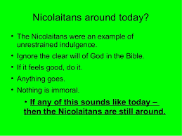 Society & Reality: Who Are The Nicolaitans? Revelation 2 Study
