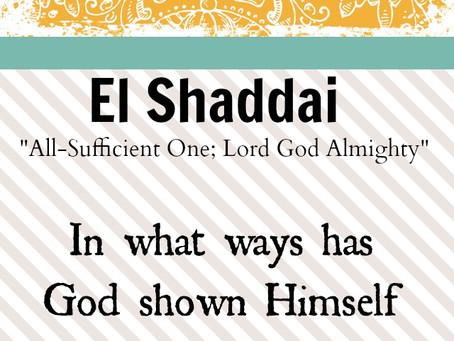 True Word of Yah: What is in a Name? The Study of EL.