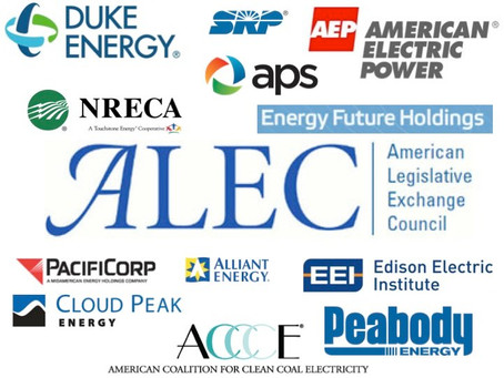 Society & Reality Check: American Legislative Exchange Council: Who Really Write our Laws??