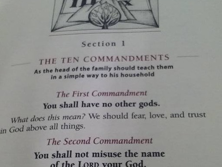 Reality: Exodus 20 is Not the Same in All Denominations: The 10 Commandments