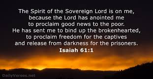 True Word of Yah: You Are Captives Unless you Are Redeemed! Isaiah 61