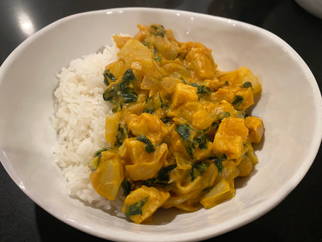 Tempeh Pumpkin Curry