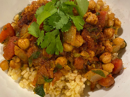 Delicious Plant Based Chana Masala