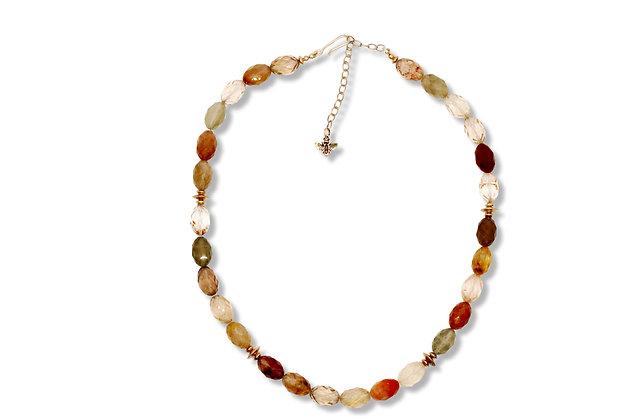 Mixed Quartz Necklace
