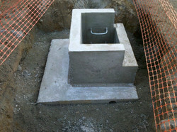 Haunched Side Entry Pit