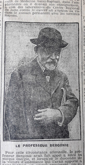 Bergonié Jean Alban Pionnier de la Radiologie1857-1925