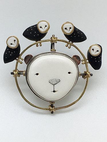 Bear Pin / Pendant