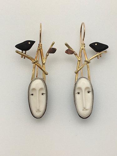 Woodland Goddess Earrings