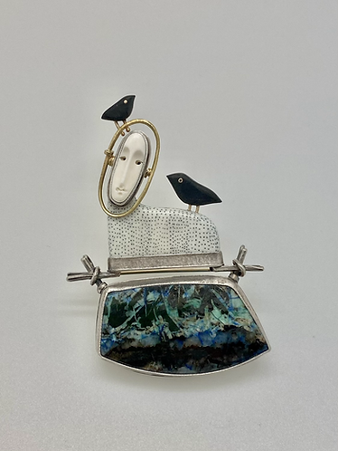 Woodland Goddess Pin/Pendant