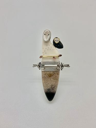 Owl Pin/Pendant