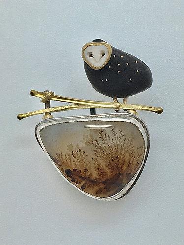 Owl Pin / Pendant