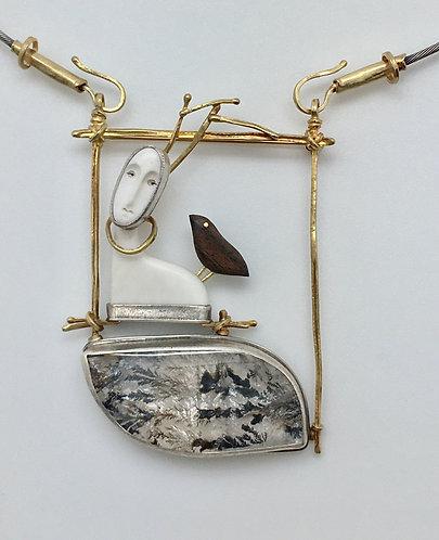 Deer Pin / Neckpiece
