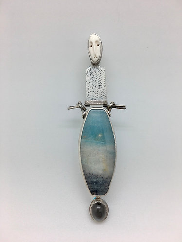 Moon Goddess Pendant