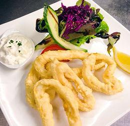 Calamares van restaurant Xenia Tongeren
