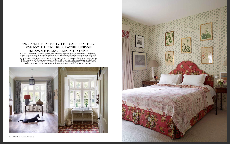 Hall, hat room, guest bedroom