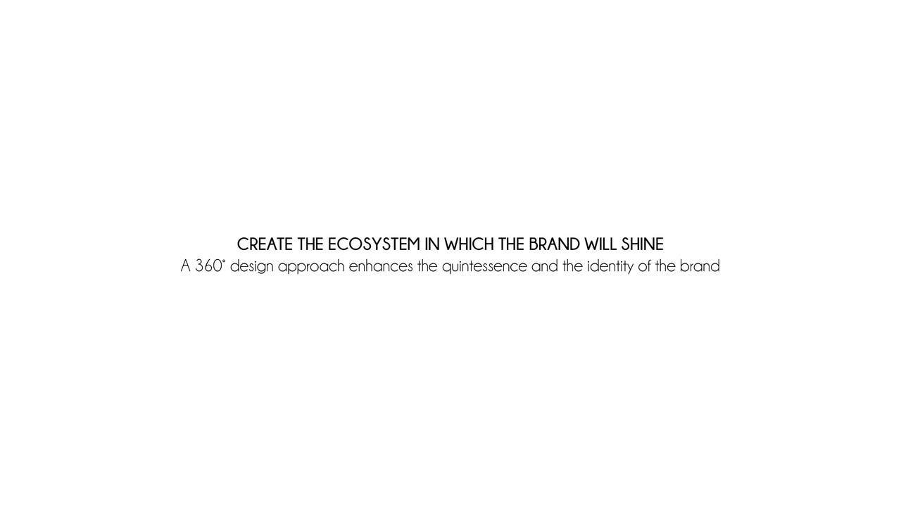 Create the Ecosystem in which the Brand