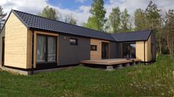 Modulární dřevostavba
